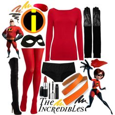 The Incredibles/Halloween Outfit More  sc 1 st  Pinterest & Incredibles Costume Tutorial | Incredibles costume Costume tutorial ...