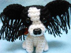 Pequeño Shih Tzu Amigurumi ganchillo perro cachorro por KatesCache