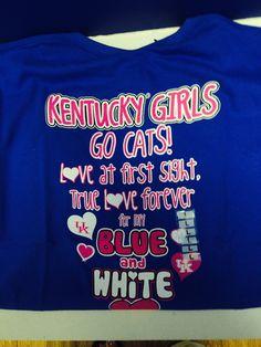 Kentucky blue....Go Cats!