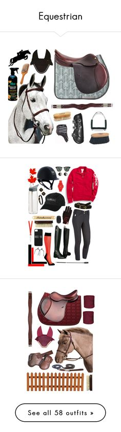 """""""Equestrian"""" by clairebearrawr ❤ liked on Polyvore featuring goodness, Ariat, Ray-Ban, Vince Camuto, Accessorize, CamelBak, Givenchy, Frye, Michael Kors and pancakes"""