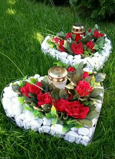 Grave Flowers, Cemetery Flowers, Funeral Flowers, Cemetery Decorations, Table Decorations, Small Gardens, Outdoor Gardens, Casket Sprays, Funeral Flower Arrangements