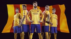 Away kit 2015-16 #FCBarcelona #FCB #Shop #Store #FansFCB