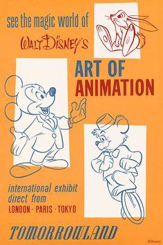 Walt Disney's Art of Animation Poster