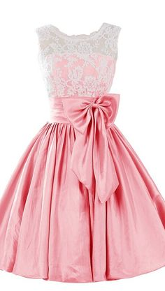 Eveing dresses o-neck Homecoming Dress LACE PROM DRESS Taffeta Short A-Line DRESSES PINK MINI PARTY DRESSES
