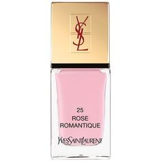 Yves Saint Laurent La Laque Couture (€25) ❤ liked on Polyvore featuring beauty products, nail care, nail polish, makeup, nails, beauty, cosmetics, rose romantique, yves saint-laurent nail polish and shiny nail polish