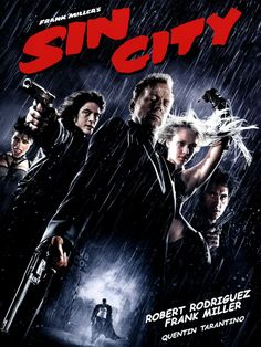 Sin City - Review: Sin City is a graphic novel written by Frank Miller faithfully recreated frame by frame into a film… #Movies #Movie