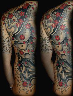 H F Tattoo Hefrem e Frida Tattoo | Gallery Hefrem  Asian style