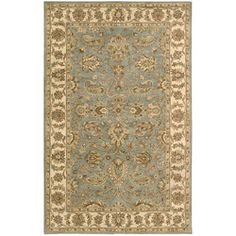 @Overstock - This rug features both a classic style and sophisticated contemporary motifs. red, green, ivory, brown and blue dyed and meticulously hand-tufted rug
