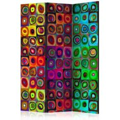 Paraván - Colorful Abstract Art [Room Dividers] 135x172 7-10 dní