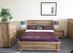 Allegra Marri Timber Queen Bed