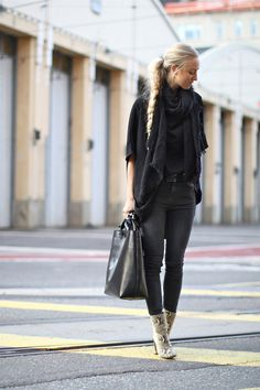 shadow fox stone dress as shirt  gina tricot jeans  forever 21 scarf  g-star belt  zara bag and boots    photos by stefanie