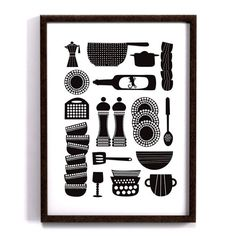 Kitchen tools - 30x40 cm av Forma Nova nordicdesigncollective