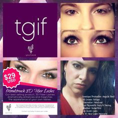 It's PAYDAY ladies!!! And a TGIF to ALL OF YOU! Treat yourself to Younique's 3D Fiber Lash Mascara today!  Most women will splurge on a new outfit and end up spending $75-$100 and then regret it because it was way too much money and they don't get to wear their outfit every single day.  The 3D Fiber Las Mascara is only $29 AND you CAN wear it EVERY DAY! In fact, you can wear it EVERY DAY for three months, which is $.33 a day!   Http://angelwinglashes.com