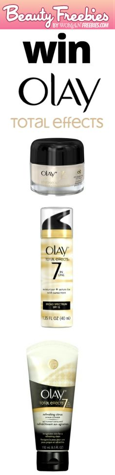 Win An Olay Total Effects Prize Pack