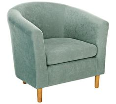 Buy HOME Molly Fabric Tub Chair - Duck Egg at Argos.co.uk, visit Argos.co.uk to shop online for Armchairs and chairs, Living room furniture, Home and garden