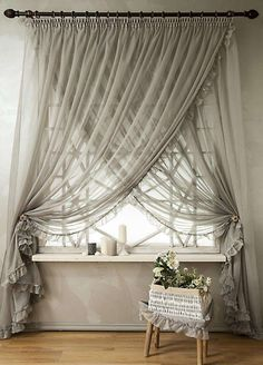 43 Ispiring Home Curtain Design Ideas . Contemporary curtains are available in a variety of unique curtain designs which play an important part in influencing contemporary home decorating co. Bedroom Blinds, Home Curtains, Curtains Living, Modern Curtains, Bedroom Closets, Diy Bedroom, Contemporary Curtains, Luxury Curtains, Vintage Curtains