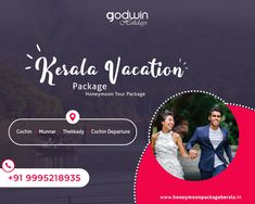 May the time you share be memorable in every way...  For Booking: Call / Whatsapp : +91 9995218935, +91 9895999412 Website : www.honeymoonpackagekerala.in | www.godwinholidays.com  #honeymoonspecial #specialtimes #honeymoonspecial  #couples #tophoneymoondestination #Godwinholidays
