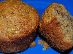 Easy vegan Banana Nut Muffins recipe made with whole-wheat flour. The bananas make the muffins fluffy and tender and the nuts add a delicious crunch. Dairy Free Recipes, My Recipes, Vegan Recipes, Dessert Recipes, Favorite Recipes, Indian Recipes, Vegan Desserts, Gluten Free, Eggless Recipes