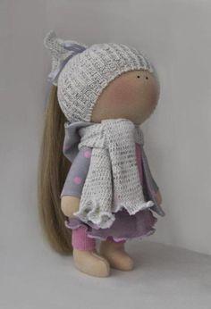 Мои текстильные куклы: фантазёрка