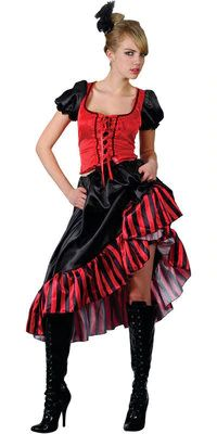 Multi-Style Adjustable Saloon Showgirl Skirt Steampunk Western Burlesque Gold