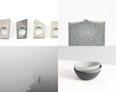 2 by Aliquid on Etsy featuring concrete jewelry - geometric minimalist concrete ring by shooohsJewelry