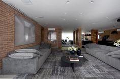 Com 270 m², apê em SP segue o estilo industrial dos 'lofts' de NY