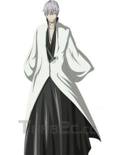 Bleach Ichimaru Gin Arrancar Cosplay Costume