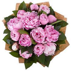 Bouquet of pionies. Букет розовых пионов #flowers #bouquet #pionies #pink