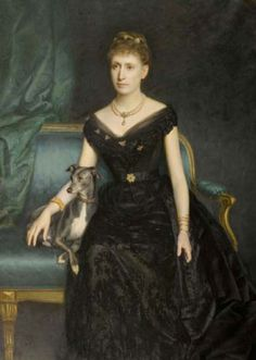 1890 Marie Gräfin zu Münster by Harry von Hente