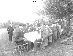 City Council inspection tour, 1900