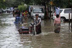 Мьянма почти полностью затоплена, сообщает ИА «Регнум» со ссылкой на источник в правительстве страны. По данным агентства, от продолжительных тропических дождей пострадали 13 из 14 регионов азиатского государства. Вести с затопленных территорий рисуют почти апокалиптическую картину: потоки воды сносят мосты, разрушают дороги, дамбы, уничтожают урожай...