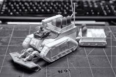 40k Imperial Guard, War Hammer, Warhammer 40000, Armored Vehicles, Modeling, Miniatures, Model Building, Modeling Photography, Models