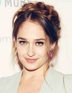 jemima kirke! i always love her hair style. usually she french braids her hair and it's so cute