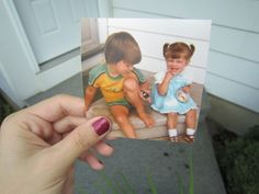 Dear Photograph, 30 years later, I still love peanut butter and jelly. Love Always, Julie (I love this site)