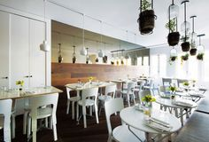 The Toucan & The Lion Restaurant, New York, USA, 2012 / 66 Chair, A330S Pendant Light