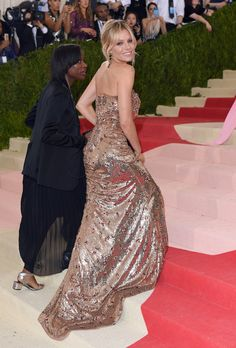 Pin for Later: You Won't Truly Appreciate the Beauty of These Met Gala Gowns Until You See Them From the Back Sienna Miller In Gucci.