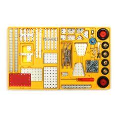 Stokys Grundkasten GK01 Dozen, Stem For Kids, Construction, Toys, Metal, Cars, Switzerland, Building, Activity Toys