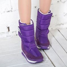 Candy Colors Winter Snow Boots