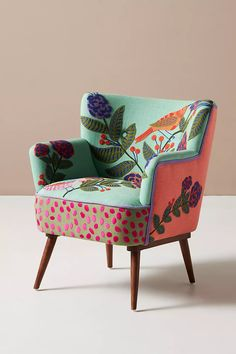 Funky Furniture, Living Room Furniture, Home Furniture, Furniture Design, Chair Design, Poltrona Vintage, Deco Cool, Deco Originale, Upholstery