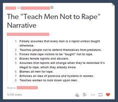 "The ""Teach Men Not to Rape"" Narrative"