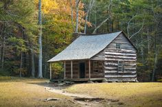 A homestead in the 1800s