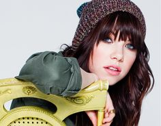 Carly Rae Jepsen. I actually really love her style.