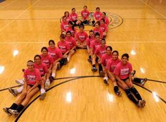 The Dillingham Lady Wolverine volleyball team raises awareness about breast cancer in Dillingham, Alaska