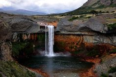 Les Cascades, Patagonia, Waterfall, America, Places, Nature, Photography, Outdoor, Cape