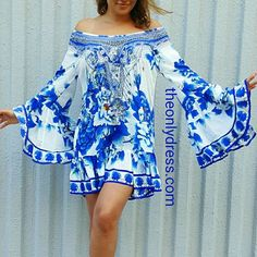 Rent Designer Dresses from TheOnlyDress - Australia Wide Shipping! Playsuits, Camilla, Fasion, Bell Sleeve Top, Chiffon, Beautiful Women, Kaftans, Skirts, Caftans