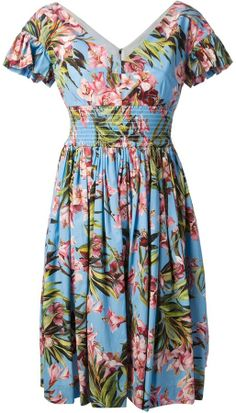 Dolce & Gabbana floral print dress on shopstyle.com.au