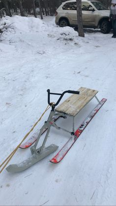 Woodworking Projects Diy, Wood Projects, Redneck Crafts, Snow Toys, Homemade Go Kart, Kids Play Equipment, Snow Sled, Dog Yard, Tactical Survival