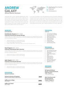 Widespread - Designer CV at RecruitPlus.com