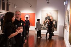 2013 Major Award Night - Black Swan Prize for Portraiture. This national art competition, held in the heart of Perth, featured 40 stunning portraits by Australia's finest portrait artists.  Artists were vying for the $45,000 Lester Prize and the $7,500 People's Choice Prize. #portraiture, #art, #prize, #blackswanprize, #archibaldprize, #painting, #perth, #portrait, #portraitpainter