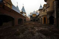 An abandoned Chinese amusement park.